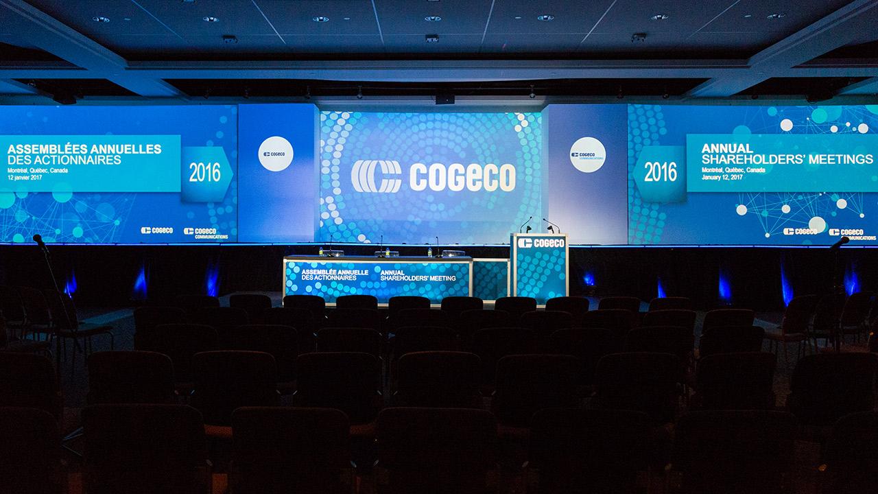 Cogeco ASSEMBLÉES ANNUELLES DES ACTIONNAIRES 2016